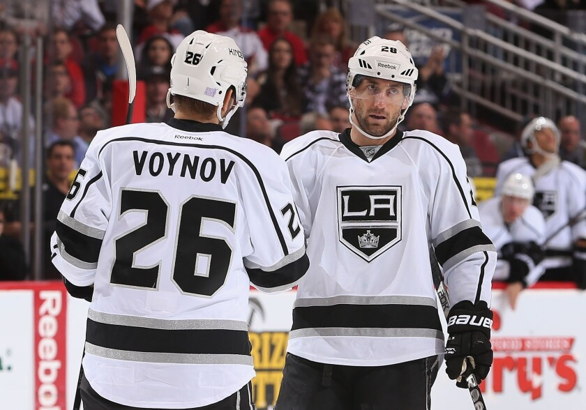 The legal troubles of defensman Slava Voynov during the season and center Jarret Stoll after it have suddenly left the Kings reeling in the off-season.