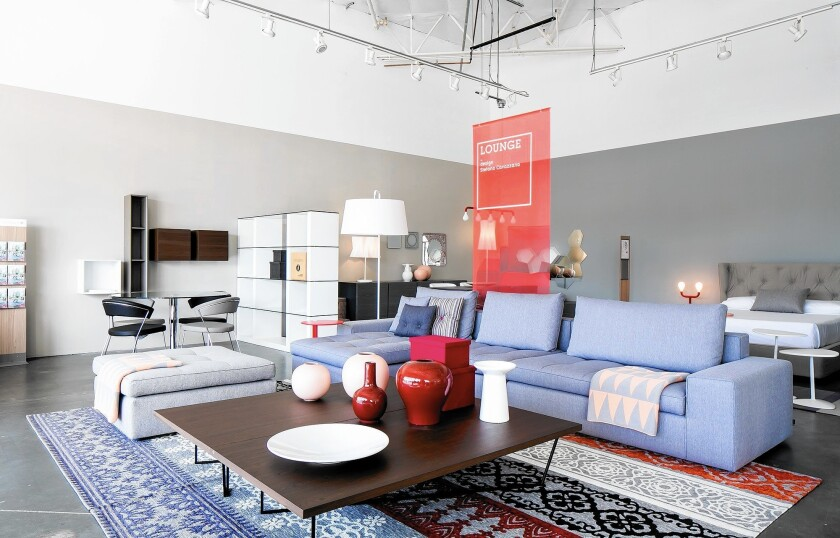 Italian furniture brand Calligaris opened its first Orange County store at South Coast Collection (Courtesy of Calligaris)