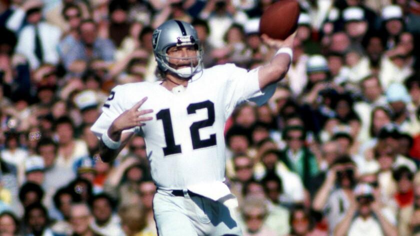 factory price 752b0 ef6b7 Former Alabama, Raiders quarterback Ken Stabler dies at 69 ...