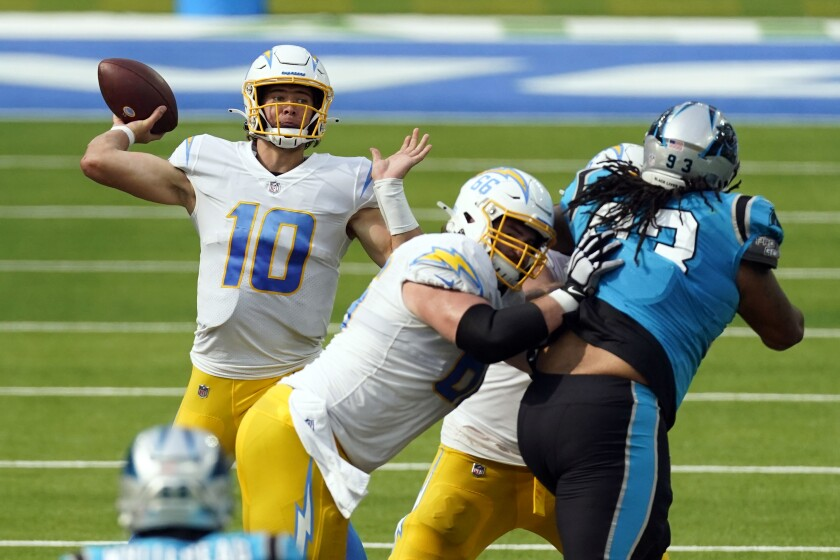 Nfl Reschedules Three Chargers Games And Moves Their Off Week Los Angeles Times