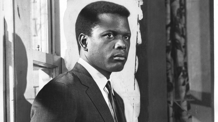 """Sidney Poitier in """"To Sir, With Love"""" in 1969."""