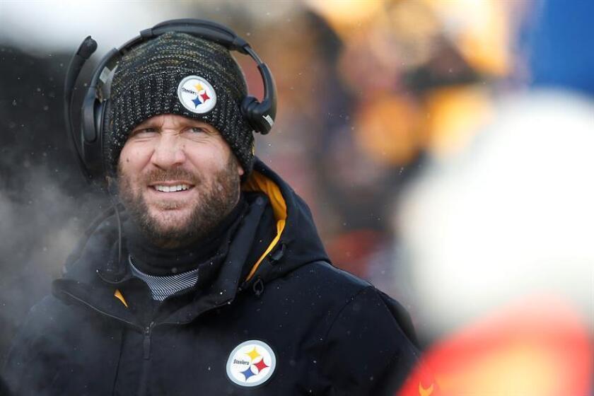 Ben Roethlisberger, mariscal de campo de los Steelers de Pittsburgh. EFE/Archivo