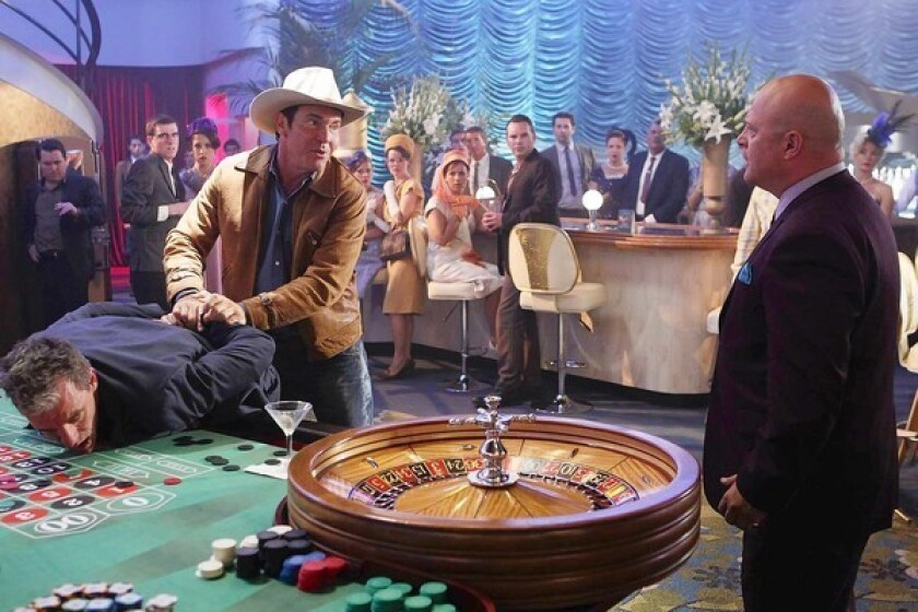 TV Review: Hitting the jackpot — sorta — in 'Vegas'