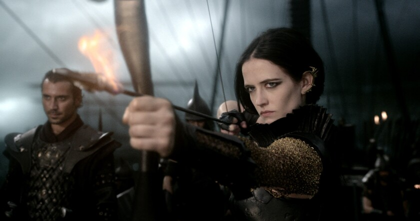 """Eva Green in """"300: Rise of an Empire."""""""