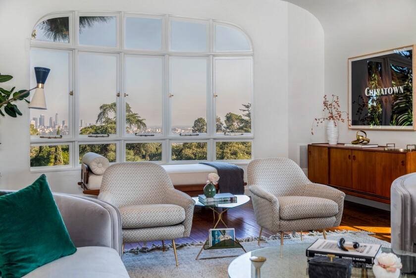 The Van Griffith estate in Los Feliz is back on the market