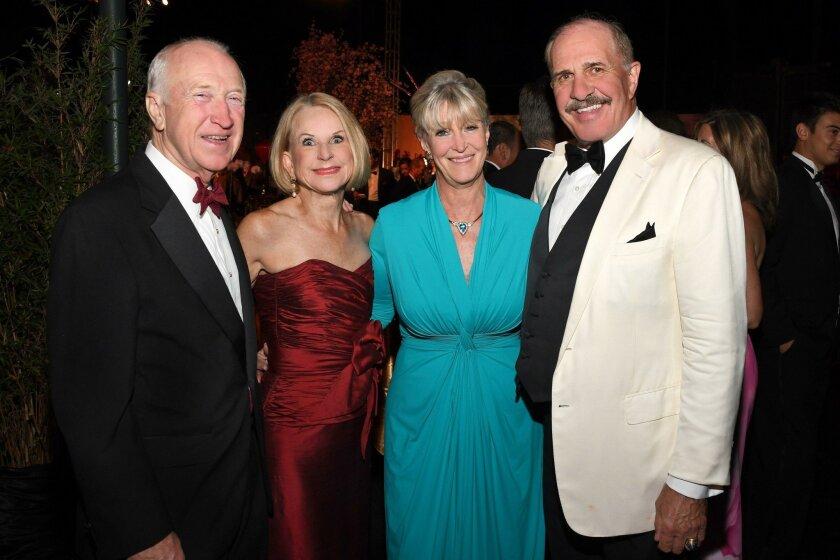 Dick and Judi Freeman, Diane and Roy Bell