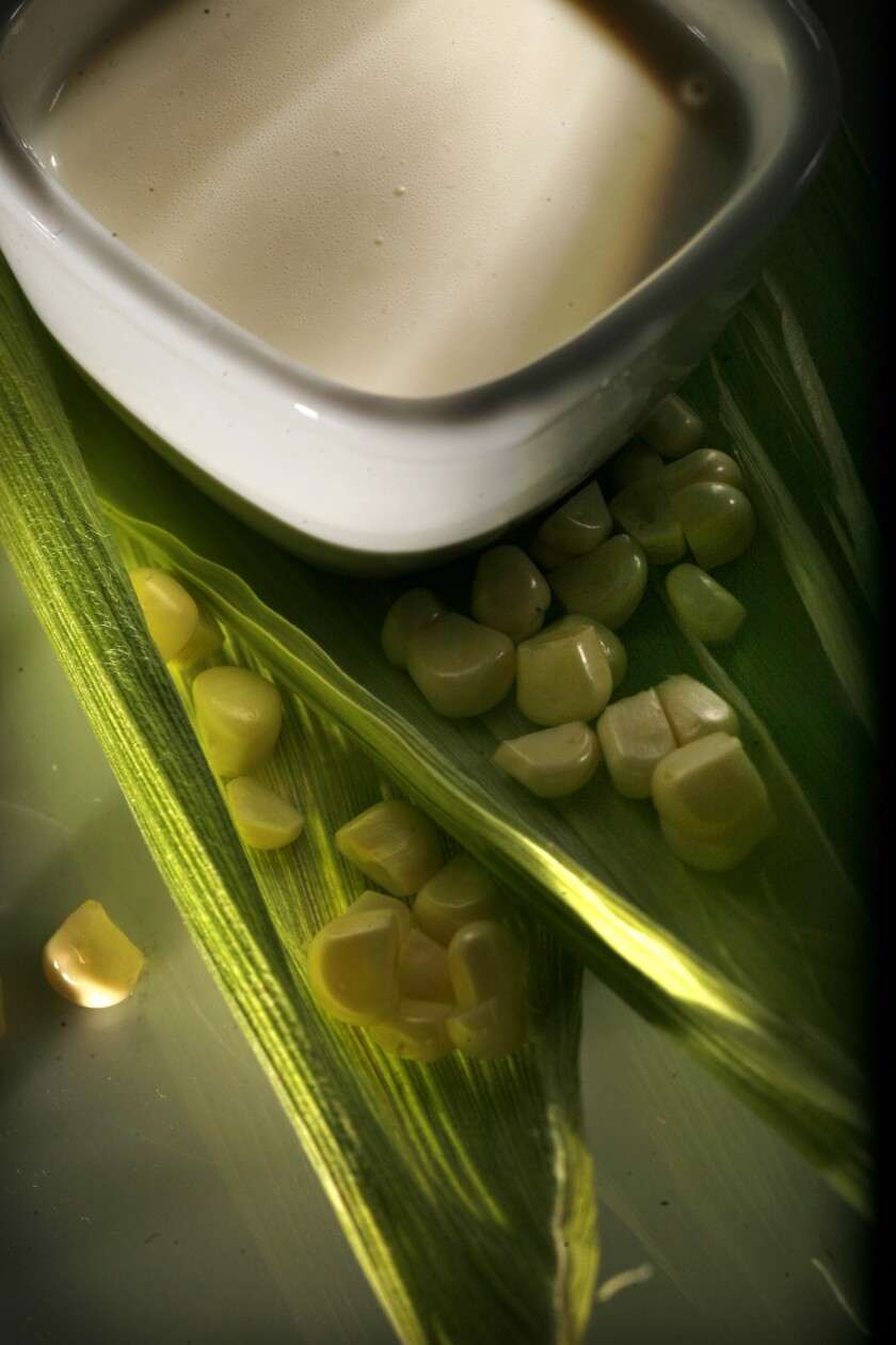 Bonus recipe: Chilled corn soup
