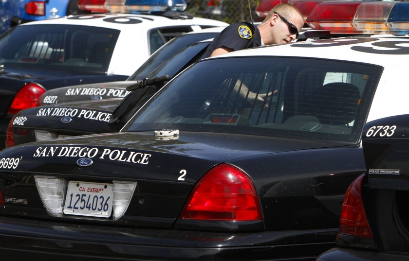 Data show that San Diego police are more likely to pull over minority motorists in traffic stops than whites.