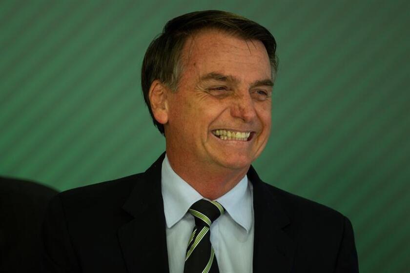 El presidente de Brasil, el ultraderechista Jair Bolsonaro. EFE/Archivo