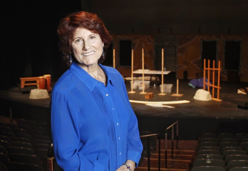 Donna Inglima is retiring after almost 29 years as the director of education at the Laguna Playhouse. Inglima is currently the acting director for Island of the Blue Dolphins.