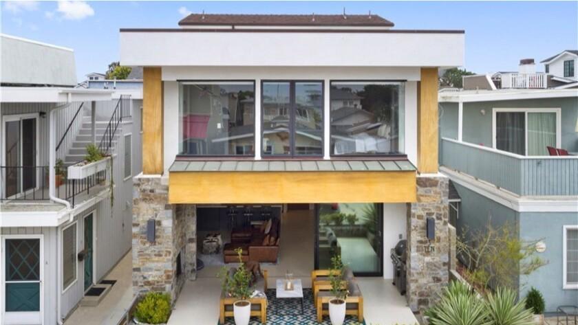 Andrew Cogliano's Newport Beach home