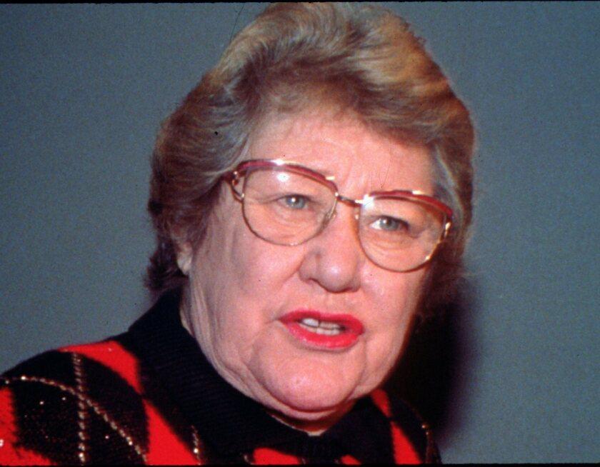 Former Cincinnati Reds owner Marge Schott