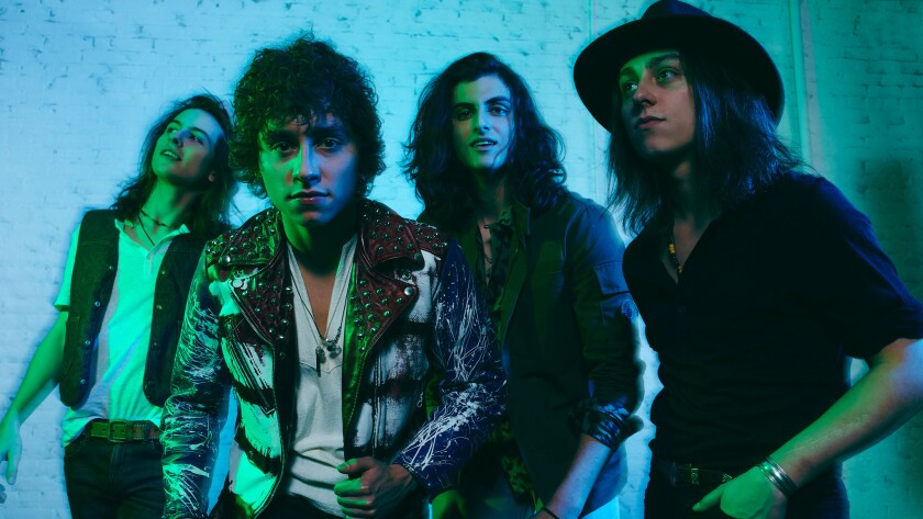A photo of Greta Van Fleet