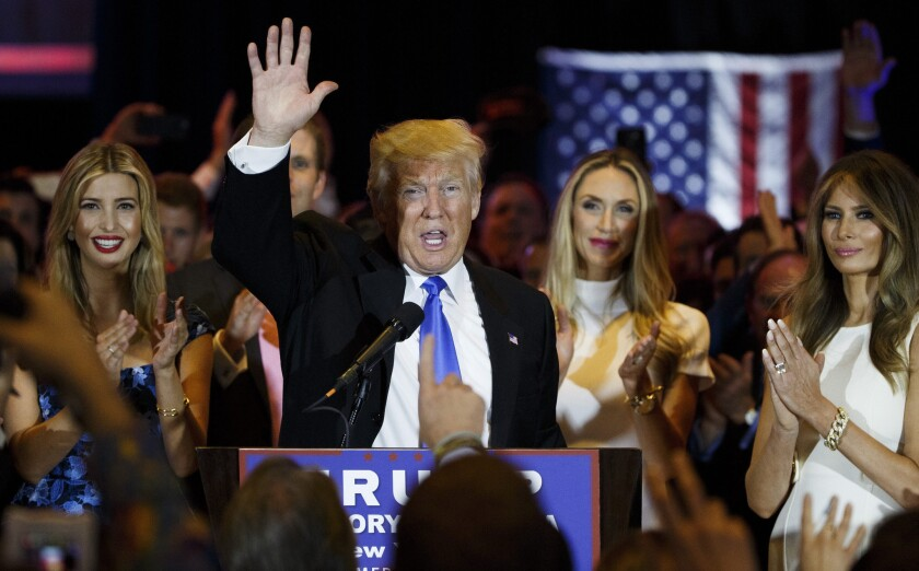Now that Donald Trump is the Republican presidential nominee-in-waiting, he faces the tall order of trying to unify his party.