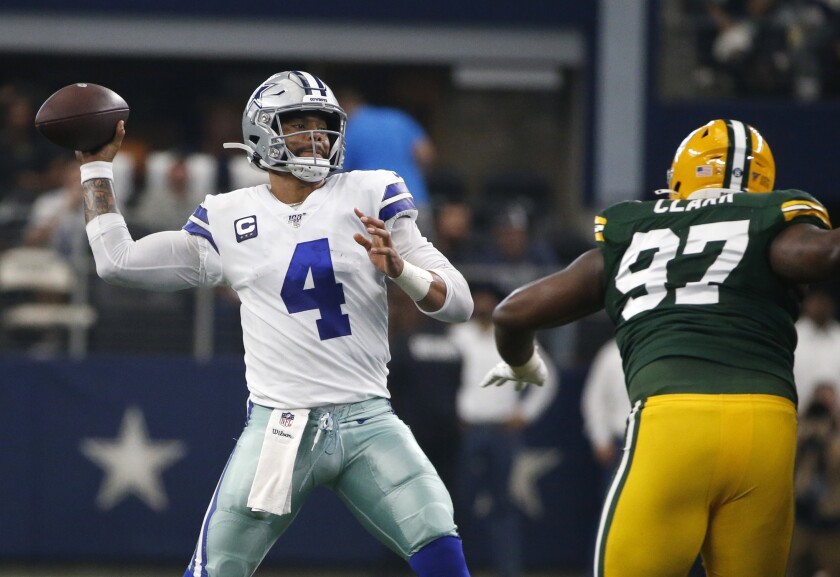 Packers Cowboys Football