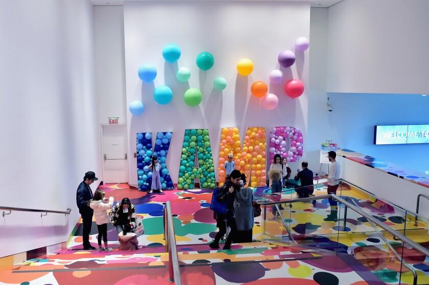 The Kids' Art Museum Project raised money for the Hammer Kids program.