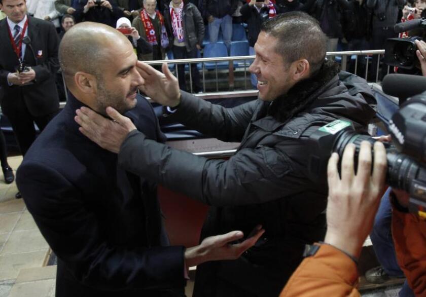 Guardiola, Allegri y Simeone, líderes en reputación