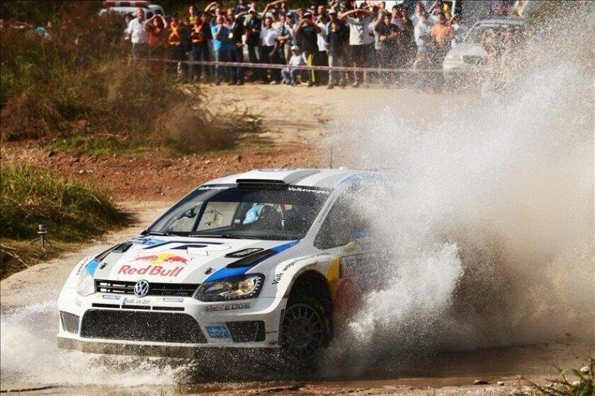 El francés Sebastien Ogier (Volkswagen Polo). EFE/Archivo
