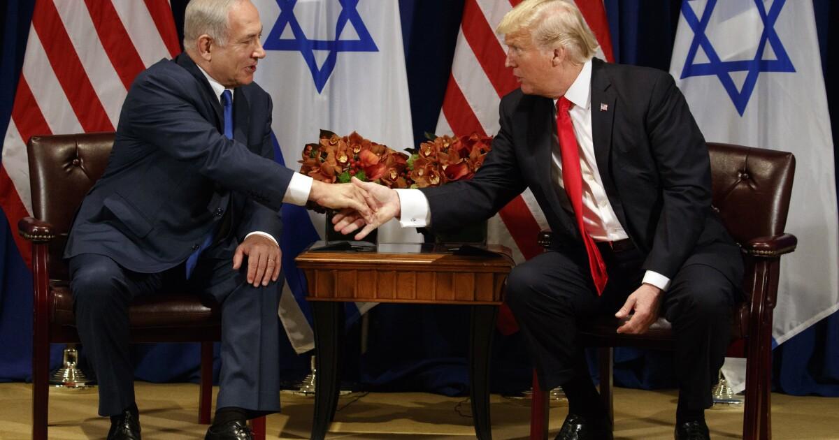 la donald trump benjamin netanyahu 20170918.'