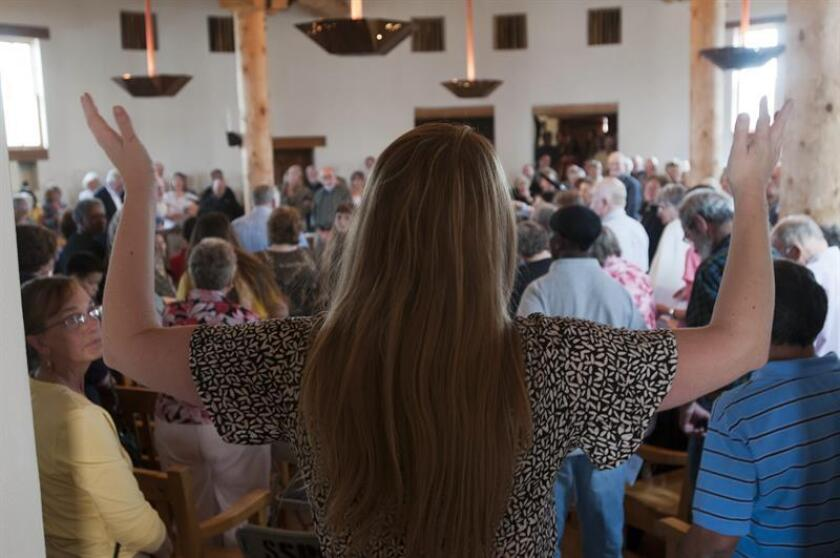 """Las cuatro mujeres inmigrantes que este año buscaron santuario en iglesias de Colorado para evitar ser deportadas inician hoy diez días de """"celebraciones"""" para que pedir la intervención de políticos para poder estar con sus familias durante las tradicionales fiestas decembrinas. EFE/ARCHIVO"""