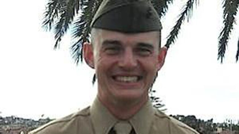 Marine Pfc. Clinton James