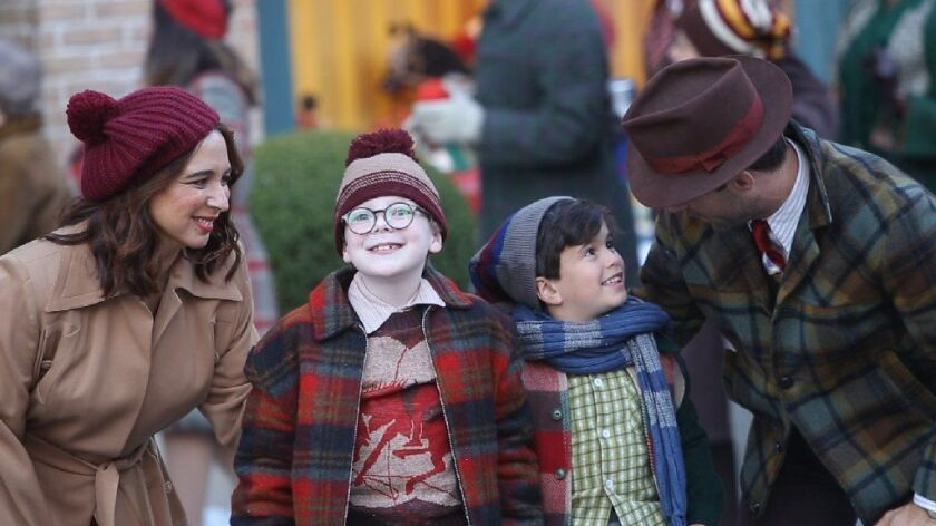 Ralphie Christmas Story.Review A Christmas Story Live Gets Merry With Maya