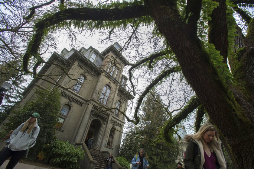 The University of Oregon's Deady Hall, which is named for a white settler who supported slavery, will be renamed.