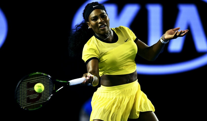 Serena Williams easily advances to Australian Open final