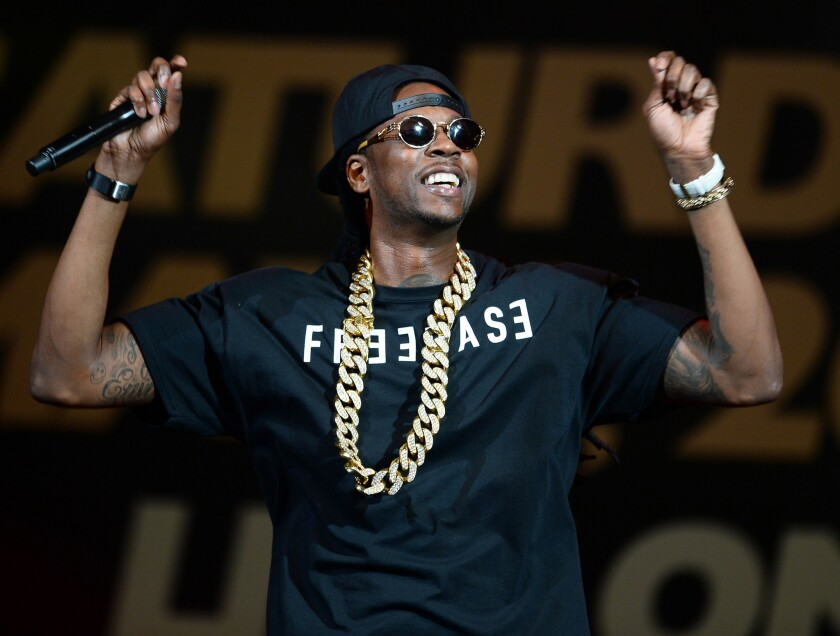 Rapper 2 Chainz performing this month at a weigh-in for a boxing match in Las Vegas.
