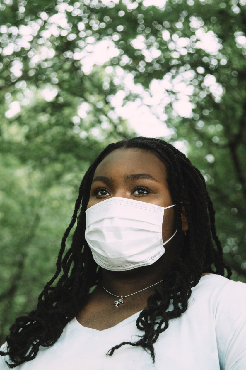 Miya Walker, 16, of Crofton, Md., has struggled to recover for 15 months after contracting COVID-19.