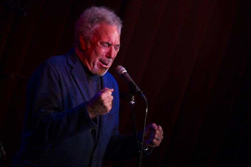 Singer Tom Jones