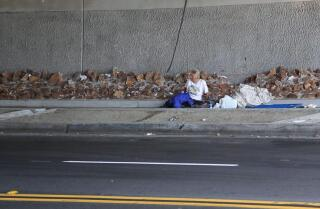 Homeless outreach with Alpha Project