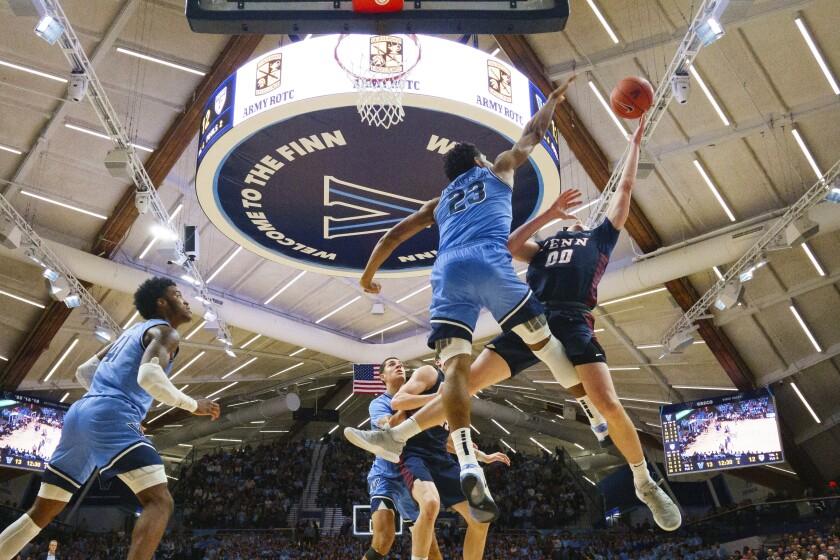Penn Villanova Basketball