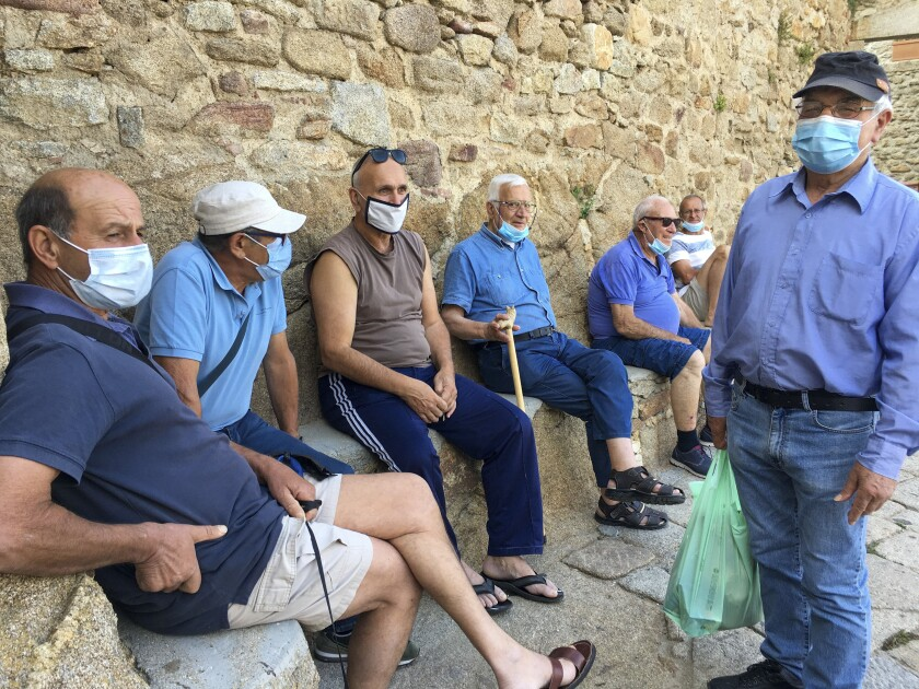 Residents of Giglio Island, Italy