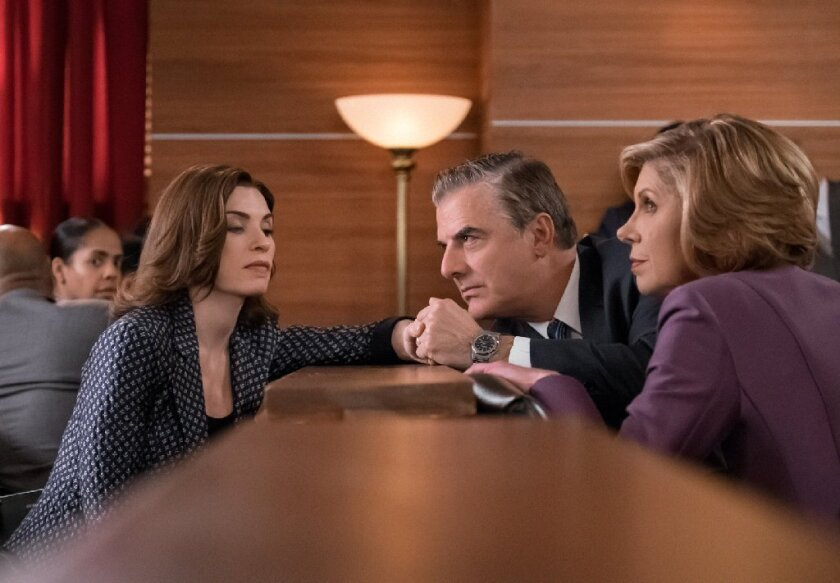 Scene from 'The Good Wife'
