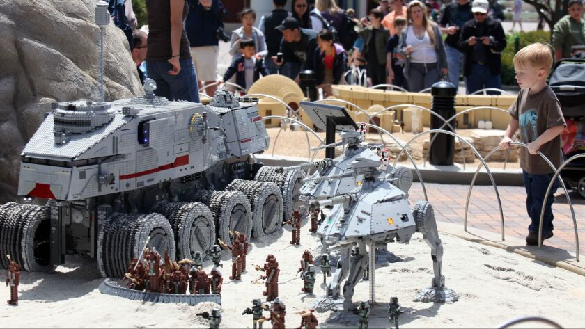 """Legoland announces plans to add new characters and scenes to its Star Wars miniland, inspired by last year's """"The Force Awakens"""" film."""
