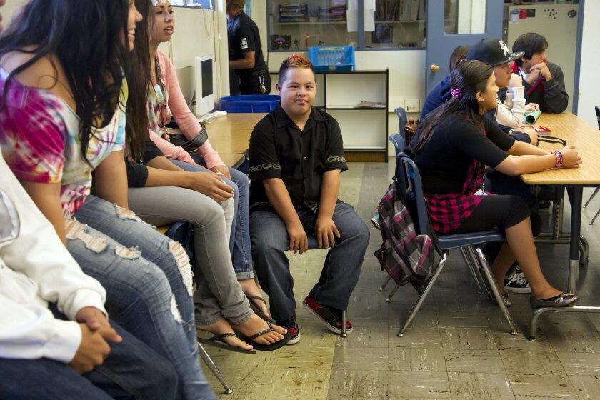 Ivan Mendoza at Crawford High School.