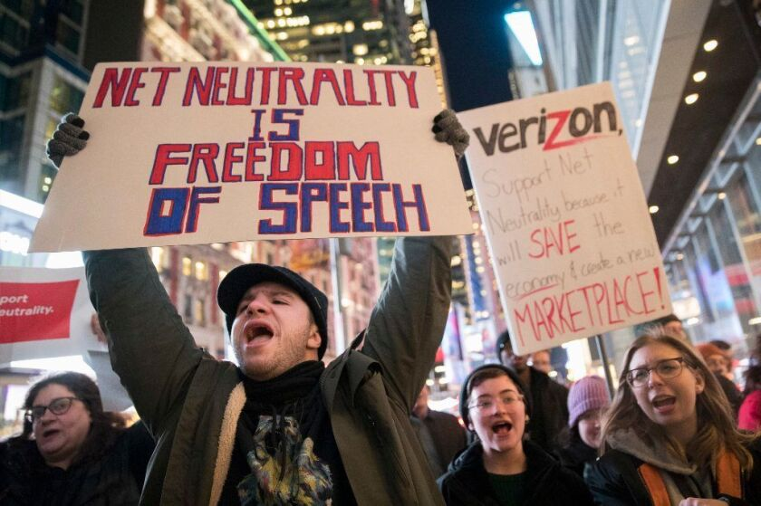 Net Neutrality supporters vehemently opposed the FCC's December 2017 decision to end the Obama-era protections.