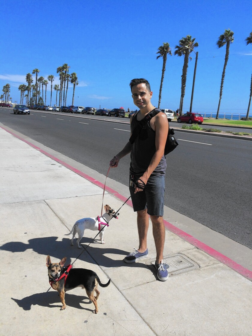 Shaun Eagleson's favorite place to spend time was along the coast in Huntington Beach or Newport Beach, according to his widdow, Sandra Eagleson. The couple lived in Fountain Valley. Shaun Eagleson was fatally injured while bicycling on East Coast Highway in Newport Beach on Oct. 19.