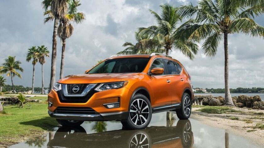 The 2018 Rogue is the first Nissan with the company's new ProPilot driving assistance system. It's not as sophisticated as Tesla's AutoPilot or Cadillac's Super Cruise, but it doesn't cost as much either.