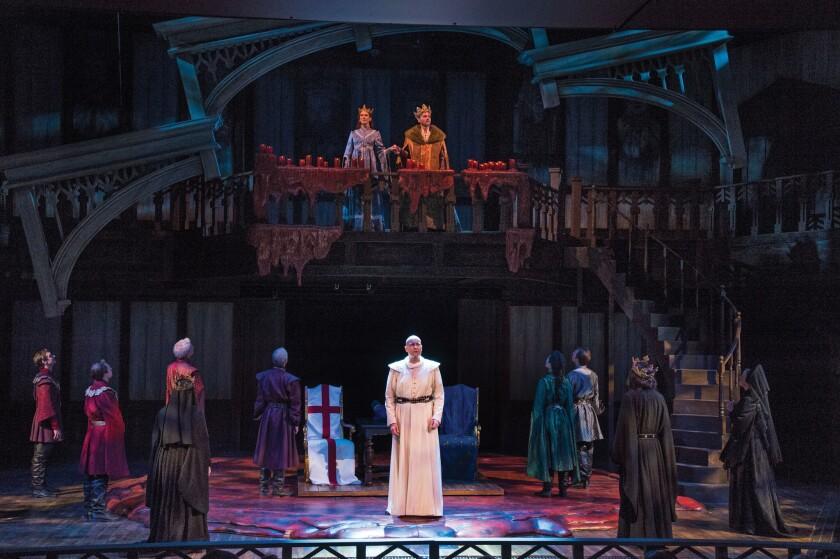 """A scene from the Utah Shakespeare Festival's 2016 production of """"Henry V."""""""