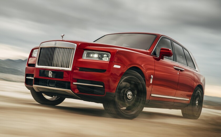 Cullinan pricing starts at $325,000 and the tester was $409,825, including the $2,600 gas-guzzler tax and $2,500 freight charge.