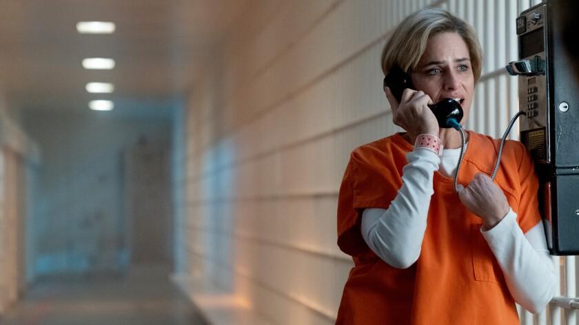 """Amanda Peet in """"Dirty John"""" on USA."""