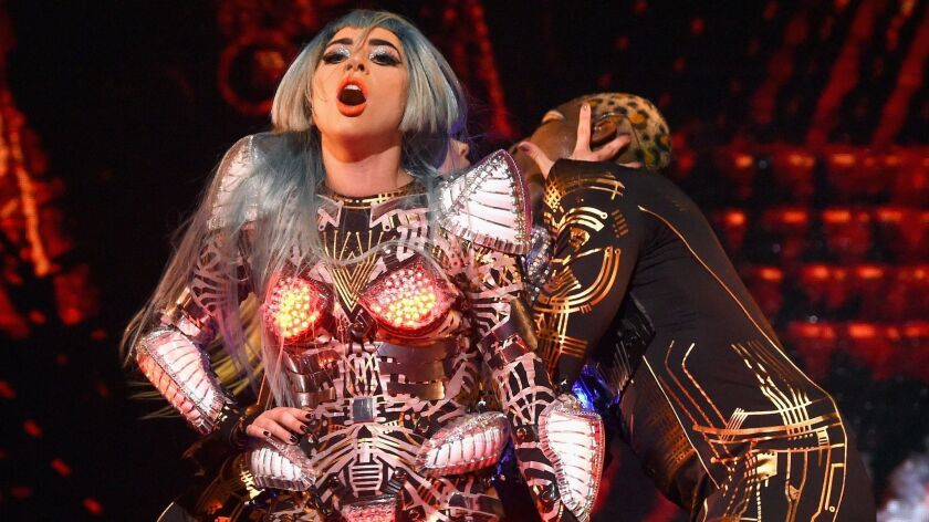 """LADY GAGA ENIGMA"" Headlines Park MGM Las Vegas Grand Opening"