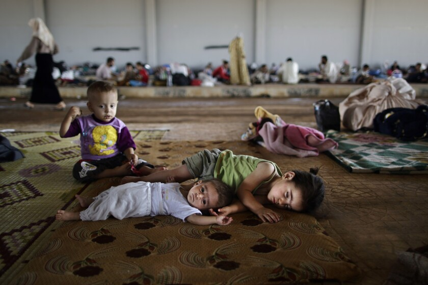 Syrian war toll on children