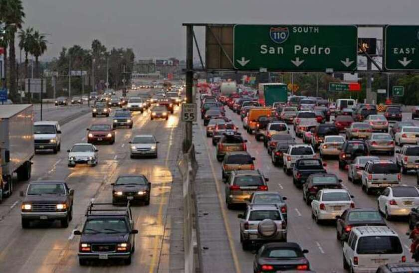 A new study found that living near heavy traffic was associated with an increased risk of certain types of rare childhood cancers in California.