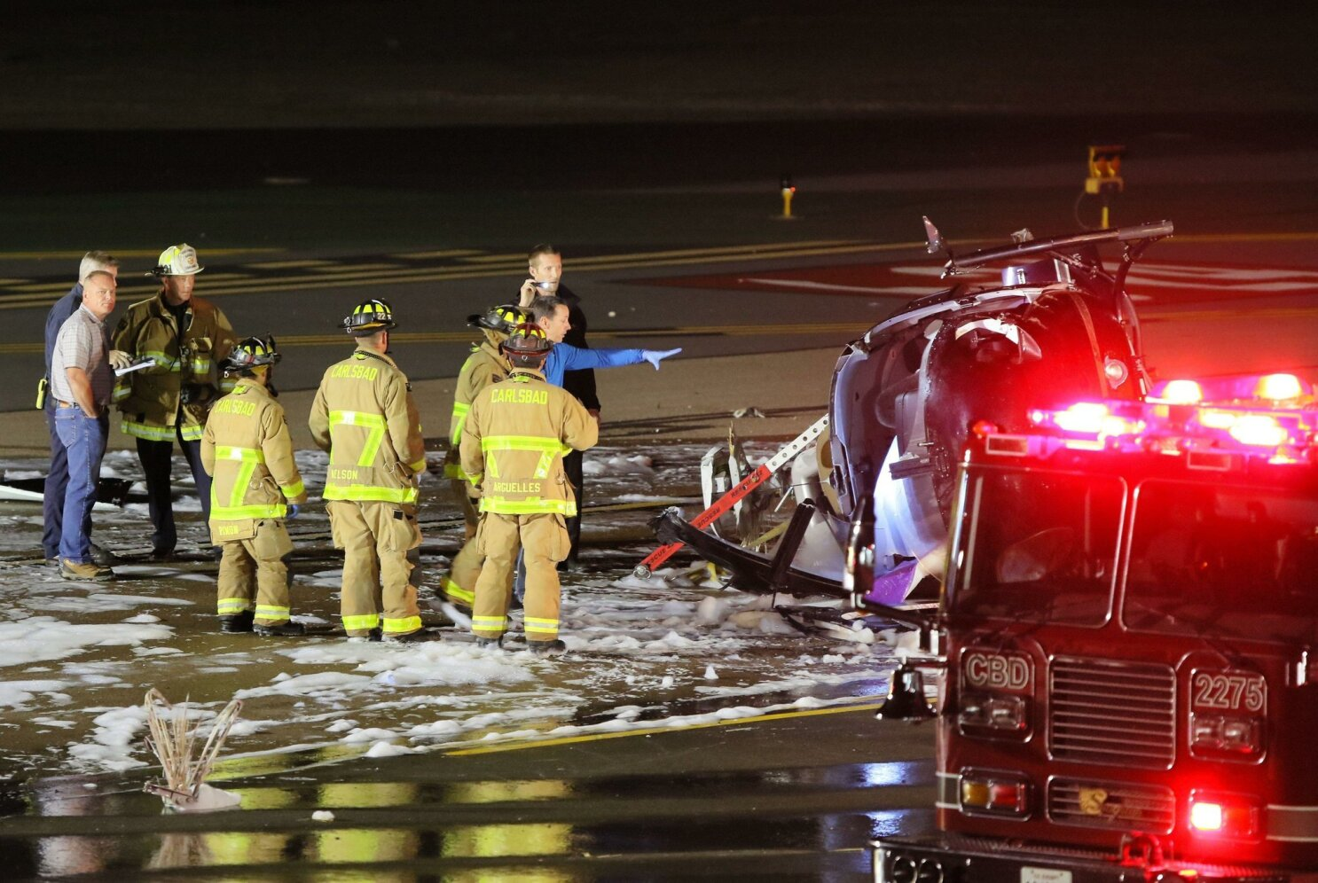 2 dead in Carlsbad airport helicopter crash - The San Diego Union