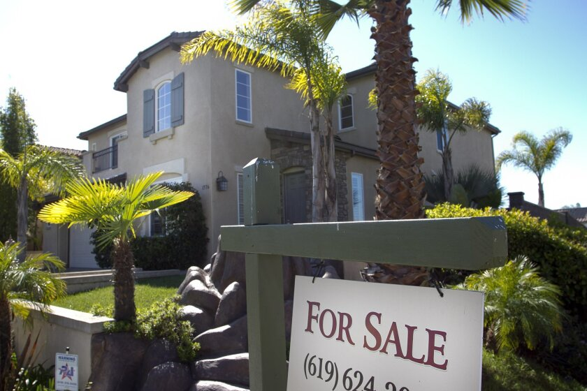 This bank-owned house on Bradbury Drive in Chula Vista was repossessed in 2011. Photo by Scott Allison/U-T San Diego.