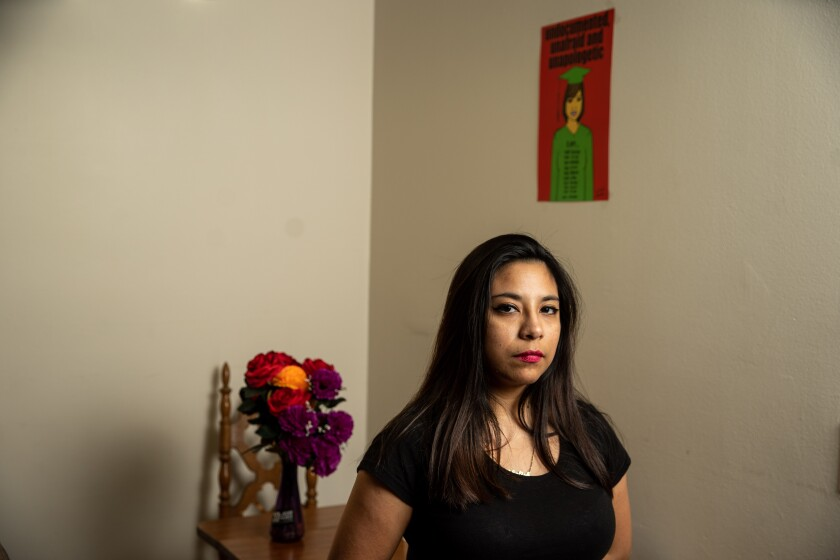 "For Karla Estrada, DACA was ""life-changing,"" allowing her to land a better-paying job and graduate from college. The program, the only thing protecting her from deportation, is in jeopardy."