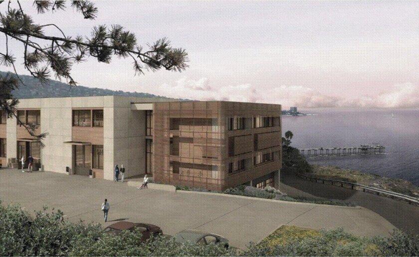Artist's rendering of the MESOM Building.
